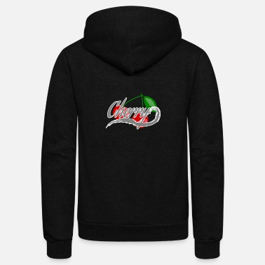 Cherry Cherry - Unisex Fleece Zip Hoodie
