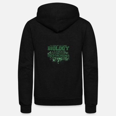 Biology Biology - Unisex Fleece Zip Hoodie