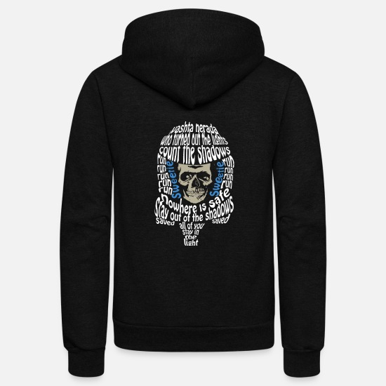 Library Hoodies & Sweatshirts - Who turned out the lights - Unisex Fleece Zip Hoodie black