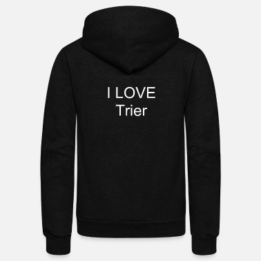 Trier I LOVE Trier - Unisex Fleece Zip Hoodie