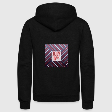 4th of July, July IVth - Unisex Fleece Zip Hoodie