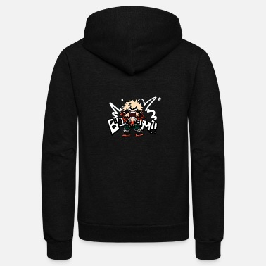 Hero My Hero Academia - Unisex Fleece Zip Hoodie