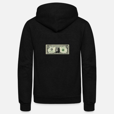 Dollar I am on a dollar - Unisex Fleece Zip Hoodie
