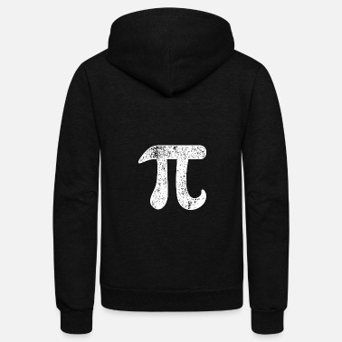 Pi Pi , Pi day, Math,Teacher - Unisex Fleece Zip Hoodie