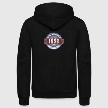 Limited Edition 1958 - Unisex Fleece Zip Hoodie