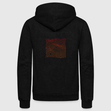 Waves - Unisex Fleece Zip Hoodie
