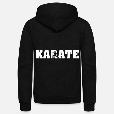 Karate karate - Unisex Fleece Zip Hoodie