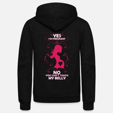 Pregnancy Funny pregnancy T-shirt for expectant mothers - Unisex Fleece Zip Hoodie