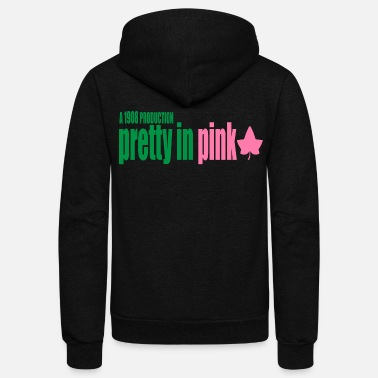 Alpha Pretty in Pink - Unisex Fleece Zip Hoodie