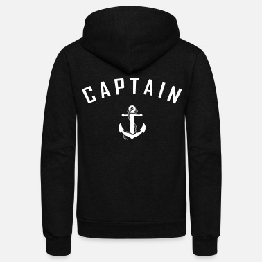 Captain - Unisex Fleece Zip Hoodie