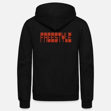 Freestyle freestyle - Unisex Fleece Zip Hoodie