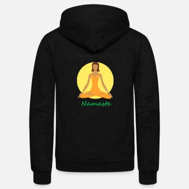 Chant yoga namaste chanting - Unisex Fleece Zip Hoodie