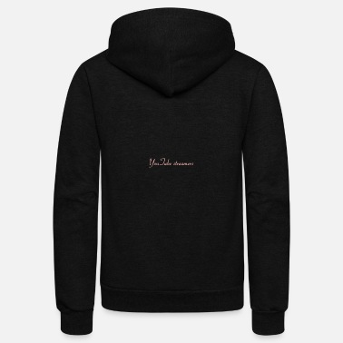 Youtuber YouTube Streamers - Unisex Fleece Zip Hoodie