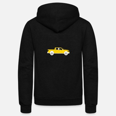Pick Up Truck Pick-up Truck - Unisex Fleece Zip Hoodie
