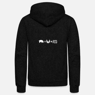 Swine Flu The Swine Flu - Unisex Fleece Zip Hoodie