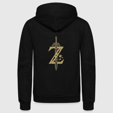 Legend Legend of Zelda - Unisex Fleece Zip Hoodie