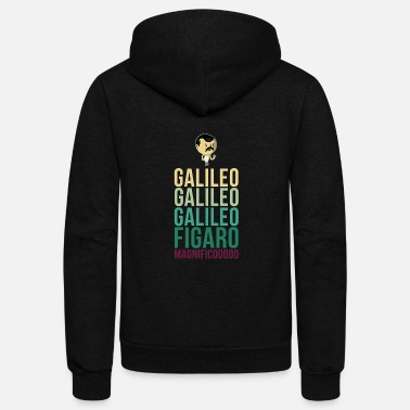 Band Galileo Figaro Magnifico - Unisex Fleece Zip Hoodie