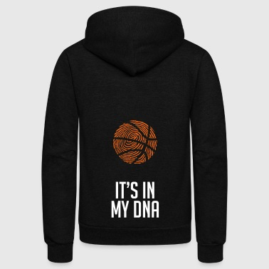 Basketball. Basketball Lover. Basketballer. Hobby - Unisex Fleece Zip Hoodie