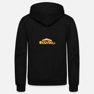 Hero Boku no Hero Academia - Unisex Fleece Zip Hoodie
