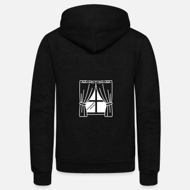 Windows Window - Unisex Fleece Zip Hoodie