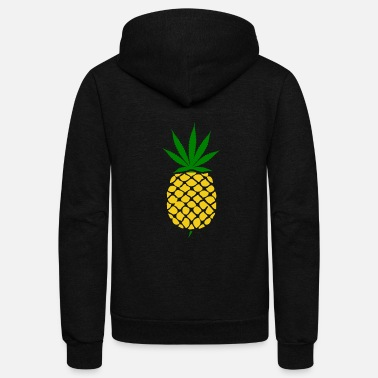 Weed pineapple mariana - Unisex Fleece Zip Hoodie