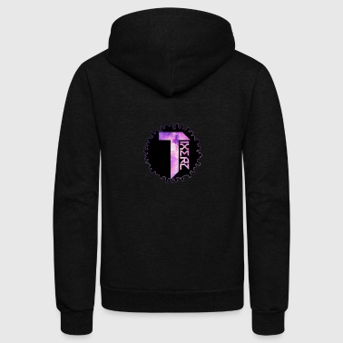 YouTube channel logo - Unisex Fleece Zip Hoodie