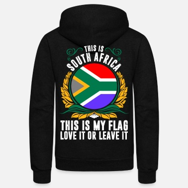 South Africa This Is South Africa - Unisex Fleece Zip Hoodie