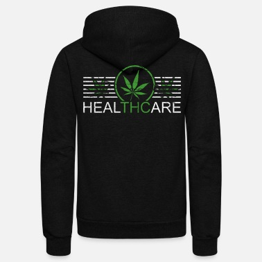 Smoking Weed - Unisex Fleece Zip Hoodie