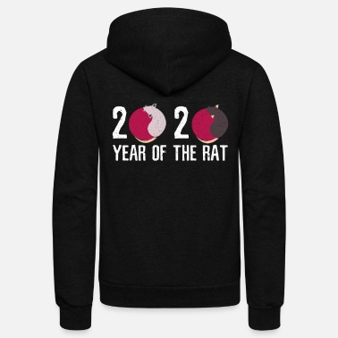 Chinese New Year Chinese New Year - Unisex Fleece Zip Hoodie