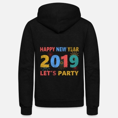 New Years new year - Unisex Fleece Zip Hoodie