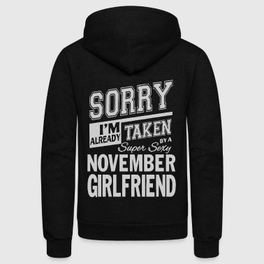 I'm already take by a super sexy girlfriend - Unisex Fleece Zip Hoodie