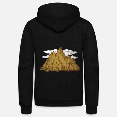 South Africa Andes Mountain Gift - Unisex Fleece Zip Hoodie