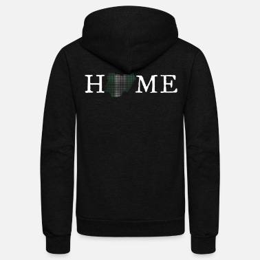 Home Country Nigeria Home Country - Unisex Fleece Zip Hoodie
