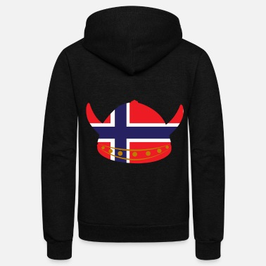 Scandinavia Norway Scandinavia - Unisex Fleece Zip Hoodie