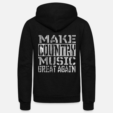 Country Music Country Music - Unisex Fleece Zip Hoodie