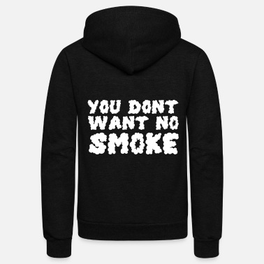 Smoking Smoking Smoke - Unisex Fleece Zip Hoodie
