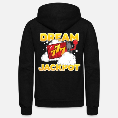 Jackpot Casino Jackpot Dream - Unisex Fleece Zip Hoodie