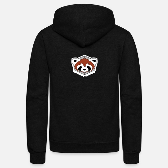 Legend Hoodies & Sweatshirts - Fire Ferrets Legend of Korra - Unisex Fleece Zip Hoodie black