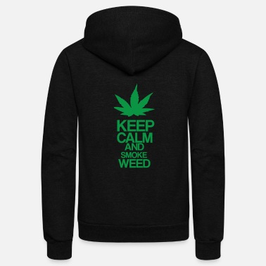 Keep Calm KeepCalm - Unisex Fleece Zip Hoodie