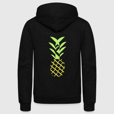 Pineapple flavor - Unisex Fleece Zip Hoodie