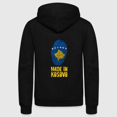 Made in Kosovo / Kosova Kosovë - Unisex Fleece Zip Hoodie