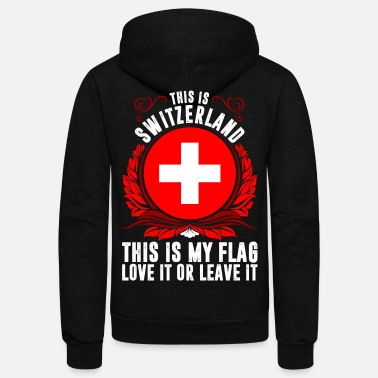 Switzerland This Is Switzerland - Unisex Fleece Zip Hoodie