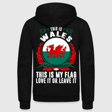 This Is Wales - Unisex Fleece Zip Hoodie