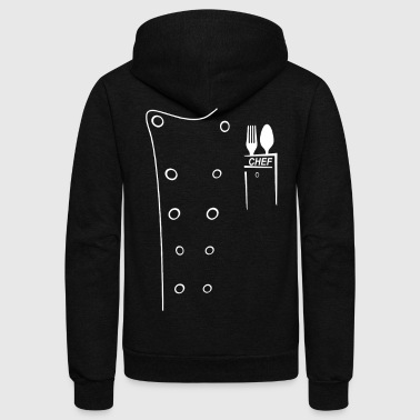 Chef chef - Unisex Fleece Zip Hoodie