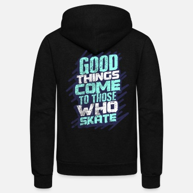 Inliner Roller Skating - Unisex Fleece Zip Hoodie