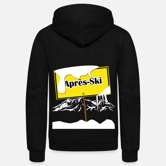 Christmas Hoodies & Sweatshirts - Apres Ski resort - Feierei - Unisex Fleece Zip Hoodie black