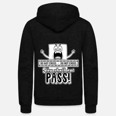 Passed Exam you shall not pass - Unisex Fleece Zip Hoodie