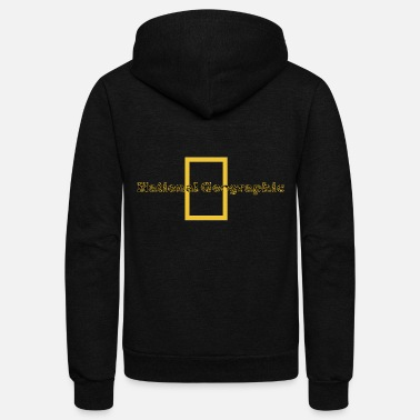 Geographic national geographic - Unisex Fleece Zip Hoodie