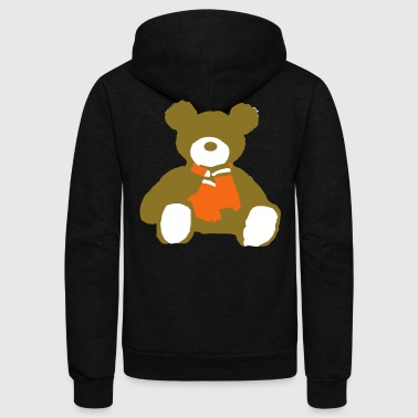 TEDDYBEAR - Unisex Fleece Zip Hoodie by American Apparel