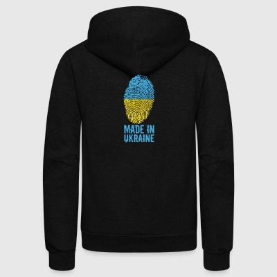 Made in Ukraine / Україна - Unisex Fleece Zip Hoodie by American Apparel